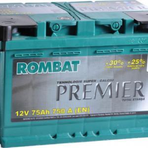 Rombat Premier 12V 75Ah Curent de pornire (A) 750